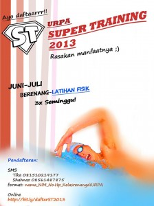 Super Training Juni - Juli 2013